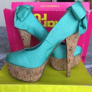 Cute Mint Heels